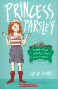 Book Cover of Pricess Parsley by Pamela Rushby