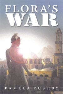 Book cover of Flora's War by Pamela Rushby