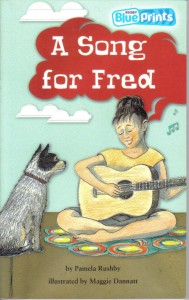 Book Cover of A Song for Fred by Pamela Rushby