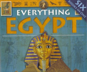 Book Cover of Everything Egypt by Pamela Rushby