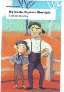 Book Cover of My Uncle, Captain Starlight by Pamela Rushby