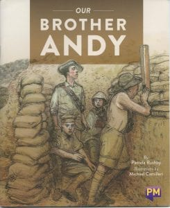 Book Cover of Our Brother Andy by Pamela Rushby