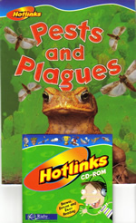 Book Cover of Pests and Plagues by Pamela Rushby