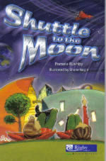 Book Cover of SHUTTLE to the MOON by Pamela Rushby