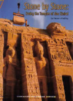 Book Cover of Stone by Stone: saving the temples of Abu Simbel by Pamela Rushby