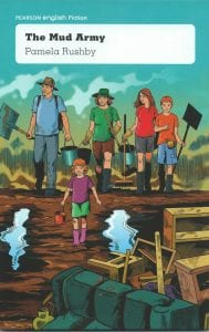 Book Cover of The Mud Army by Pamela Rushby