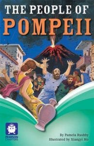 Book Cover of The People of Pompeii by Pamela Rushby