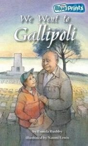 Book Cover of We went to Gallipoli by Pamela Rushby