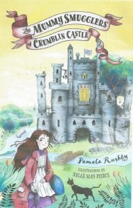 Book Cover of Mummy Smugglers of Crumblin Castle